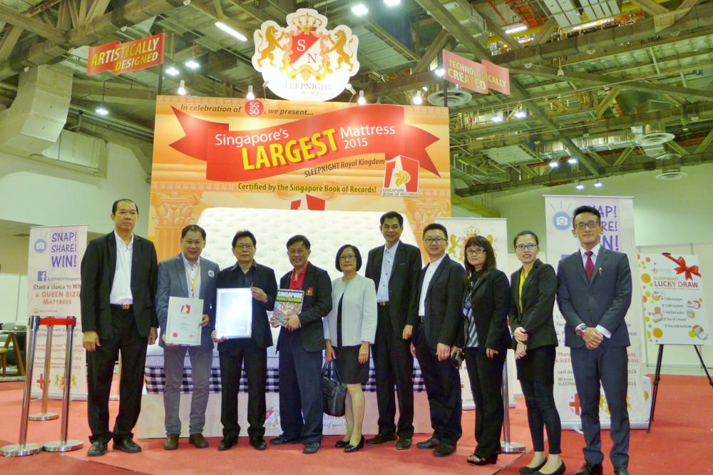 Singapore's Largest Mattress 2015