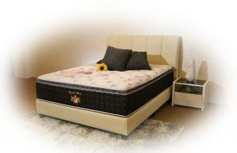 Royal Bliss - High Ventilated Convoluted Foam, Multi Zone Pocketed Spring, Visco Elastic Memory Foam Mattress