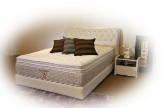 Royal Palace - Individual Pocketed Spring, Natural Latex Layer, Silver Infused Belgium Fabric Mattress
