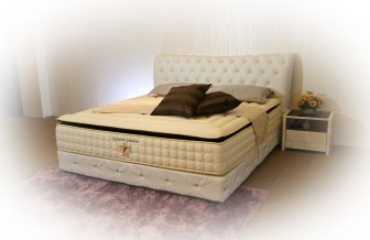 Signature Grandeur - High Ventilated Convoluted Foam, Multi Zone Pocketed Spring, Natural Latex Layer Mattress