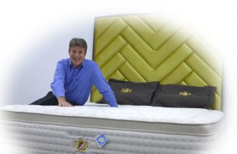 The Chiropractor - Individual Pocket Spring, Natural Latex Layer, Visco Elastic Memory Foam Mattress